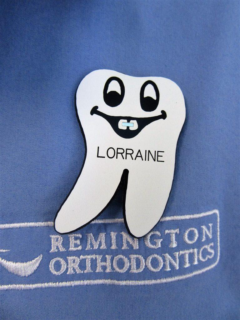 Lorraine's Nametag