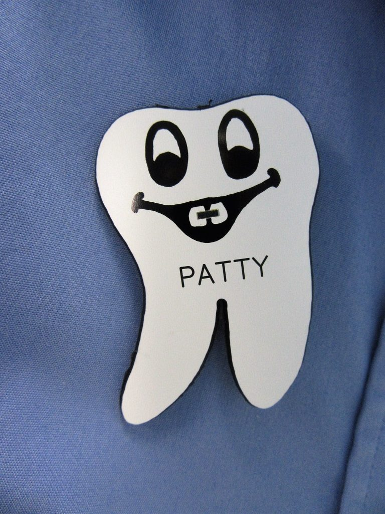 Patty's Nametag