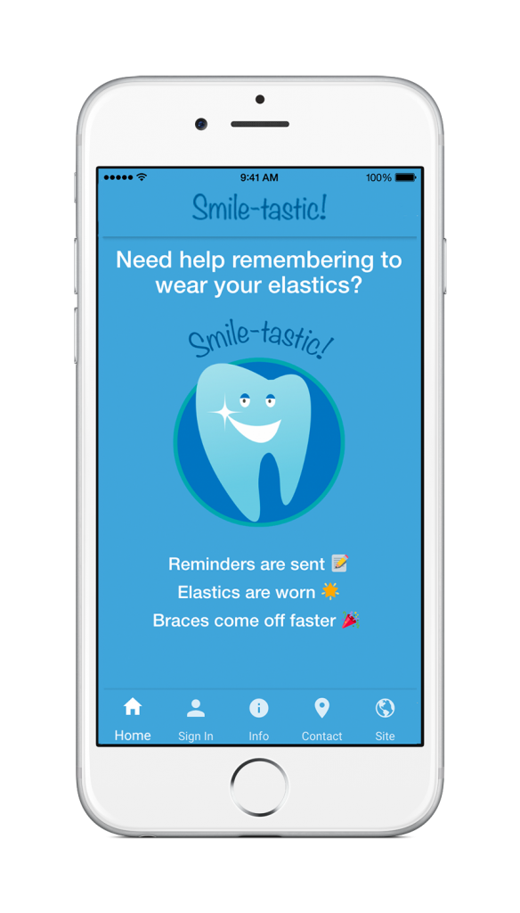 Smile-tastic! Compliance App Remington Smiles