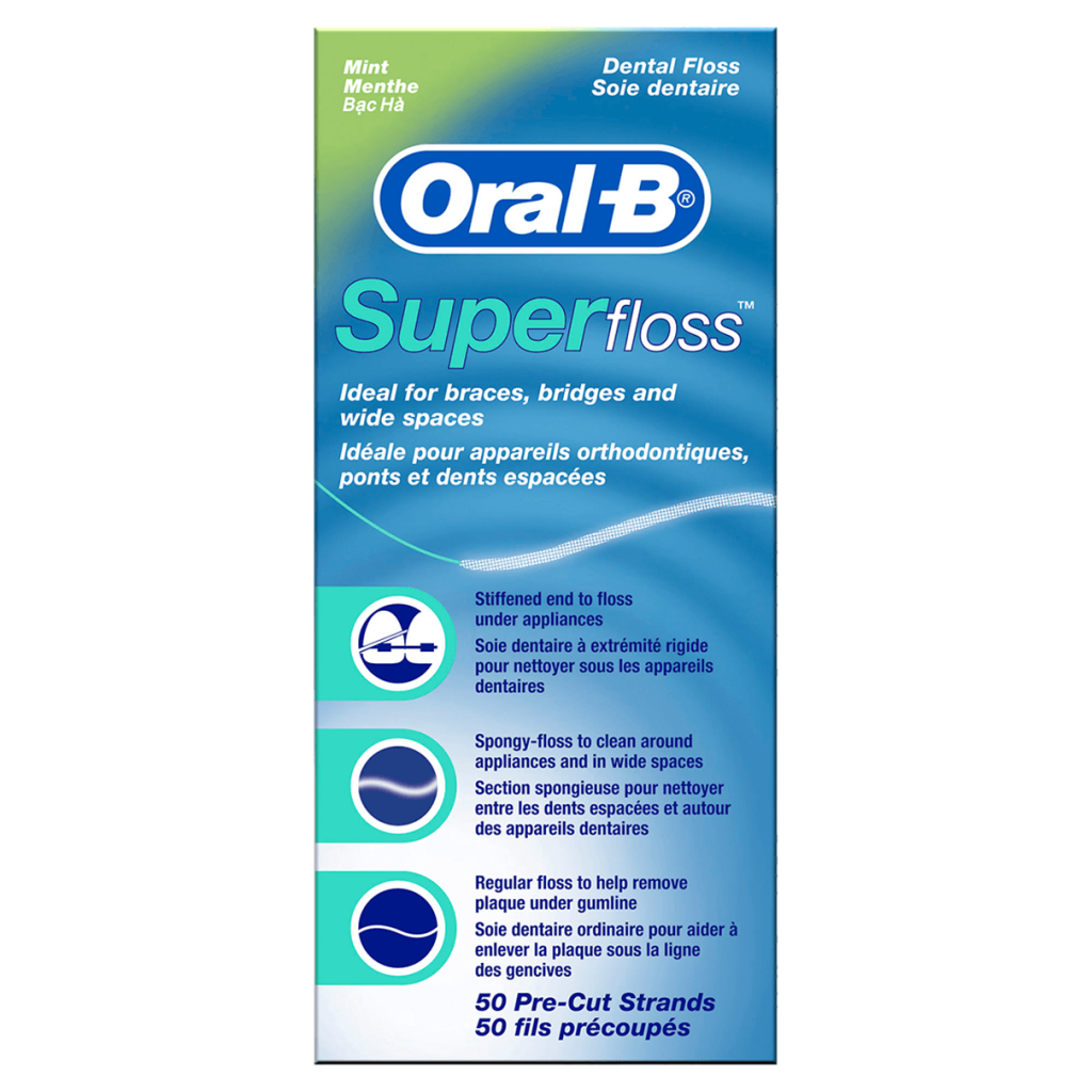 Superfloss - How to Brush your Teeth with Braces